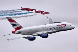 British Airways Airbus A380 (Creative Commons License). Retrieved February 2nd, 2015 from https://www.flickr.com/photos/24874528@N04/9384083282/.